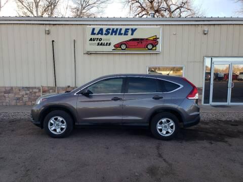 2014 Honda CR-V for sale at Lashley Auto Sales in Mitchell NE