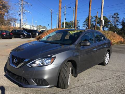 2017 Nissan Sentra for sale at Georgia Car Shop in Marietta GA