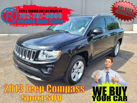 2013 Jeep Compass for sale at Reliable Auto Sales in Las Vegas NV