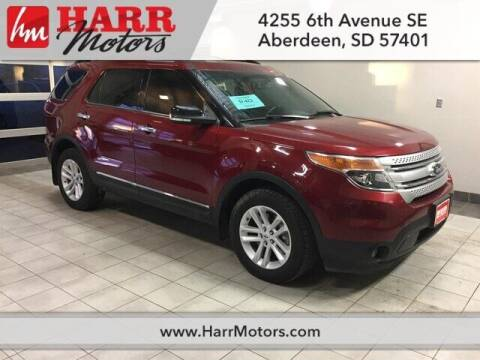 2014 Ford Explorer for sale at Harr Motors Bargain Center in Aberdeen SD