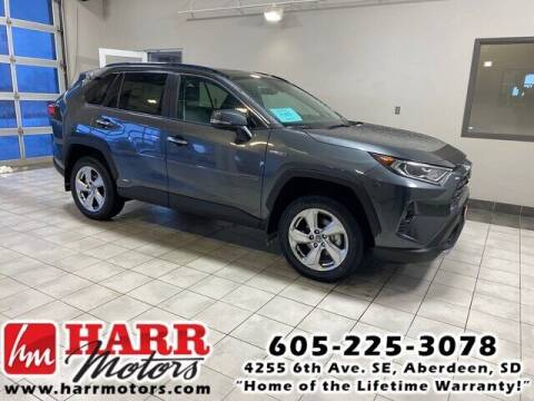 2021 Toyota RAV4 Hybrid for sale at Harr's Redfield Ford in Redfield SD