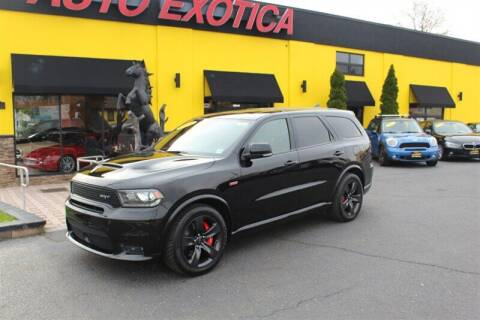 2018 Dodge Durango for sale at Auto Exotica in Red Bank NJ