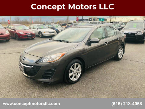 2010 Mazda MAZDA3 for sale at Concept Motors LLC in Holland MI