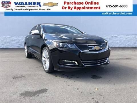 2020 Chevrolet Impala for sale at WALKER CHEVROLET in Franklin TN