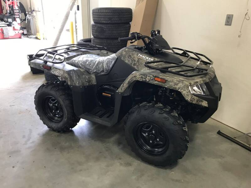 2022 TRACKER OFF ROAD 450 for sale at Tyndall Motors in Tyndall SD