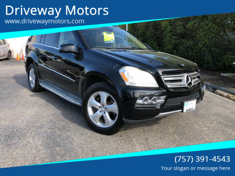 2011 Mercedes-Benz GL-Class for sale at Driveway Motors in Virginia Beach VA