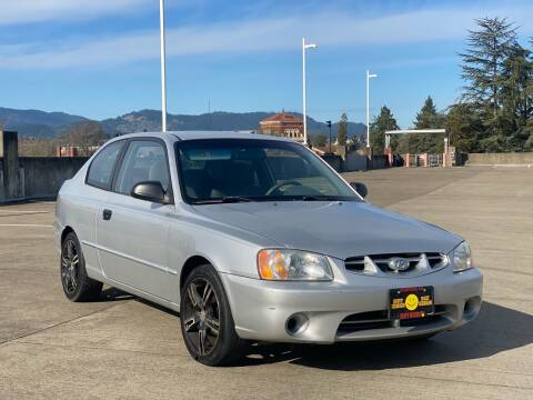 2001 Hyundai Accent for sale at Rave Auto Sales in Corvallis OR