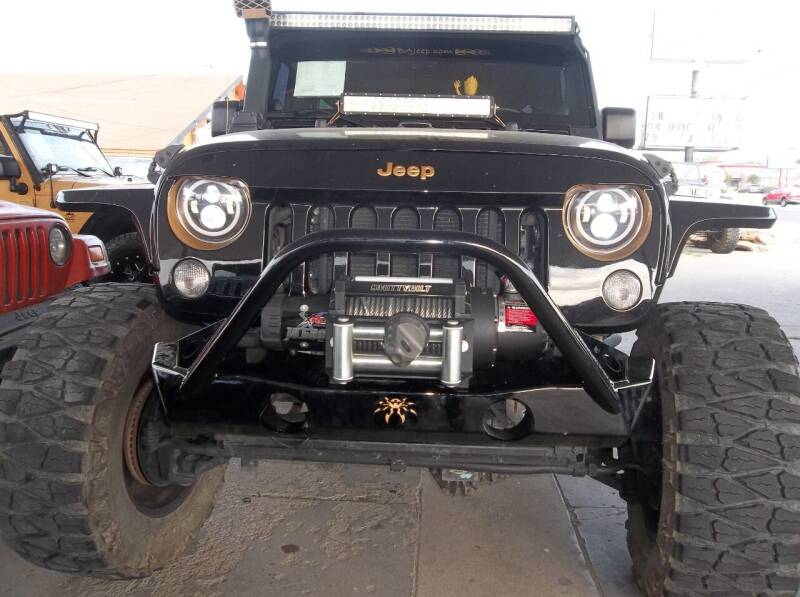2014 Jeep Wrangler Unlimited for sale at Broken Arrow Motor Co in Broken Arrow OK