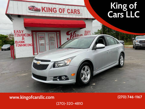 2012 Chevrolet Cruze for sale at King of Cars LLC in Bowling Green KY