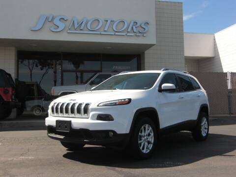 2015 Jeep Cherokee for sale at J'S MOTORS in San Diego CA