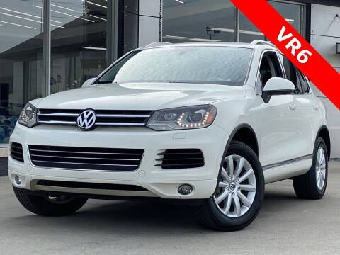 2011 Volkswagen Touareg for sale at Carmel Motors in Indianapolis IN