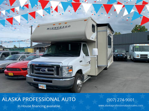 2016 Winnebago Minnie Winnie for sale at ALASKA PROFESSIONAL AUTO in Anchorage AK