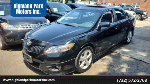 2011 Toyota Camry for sale at Highland Park Motors Inc. in Highland Park NJ
