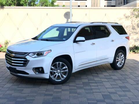 2020 Chevrolet Traverse for sale at ROGERS MOTORCARS in Houston TX