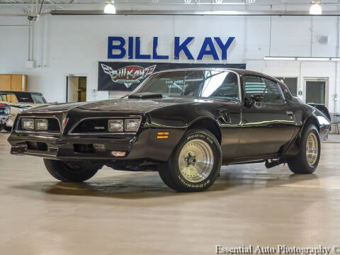 1977 Pontiac Trans Am for sale at Bill Kay Corvette's and Classic's in Downers Grove IL