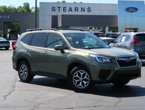 2020 Subaru Forester for sale at Stearns Ford in Burlington NC