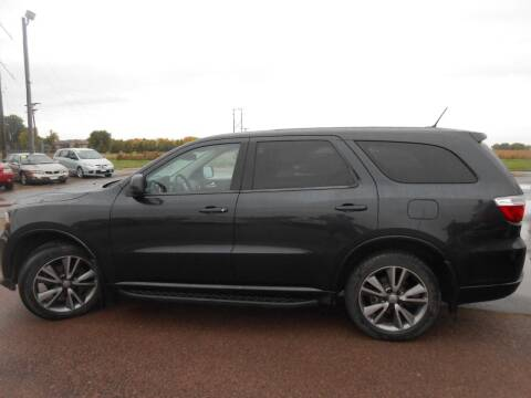 2013 Dodge Durango for sale at Salmon Automotive Inc. in Tracy MN