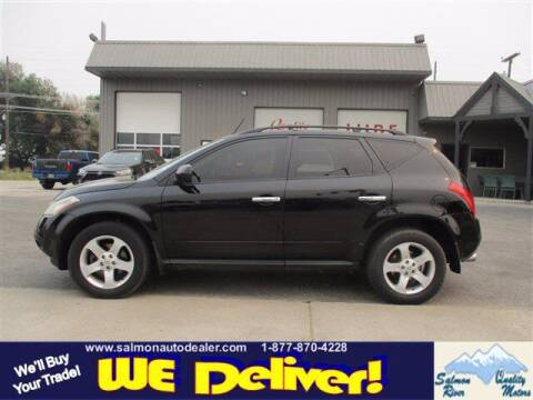 2004 Nissan Murano for sale at QUALITY MOTORS in Salmon ID