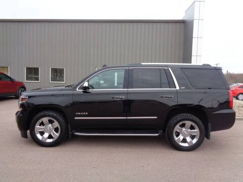2015 Chevrolet Tahoe for sale at Herman Motors in Luverne MN