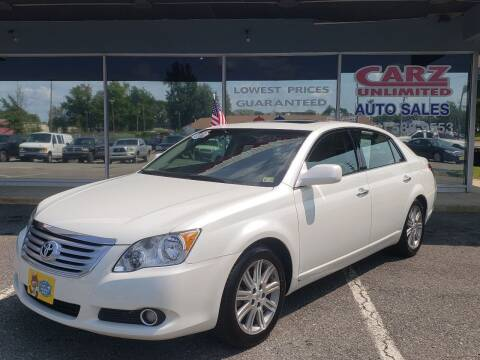 2008 Toyota Avalon for sale at Carz Unlimited in Richmond VA