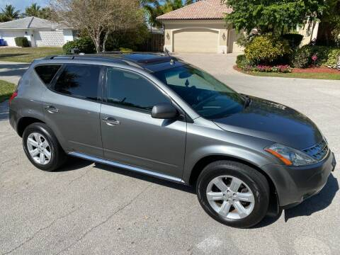 2007 Nissan Murano for sale at Exceed Auto Brokers in Pompano Beach FL