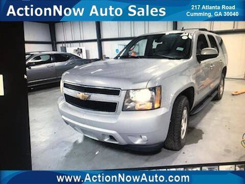 2007 Chevrolet Tahoe for sale at ACTION NOW AUTO SALES in Cumming GA