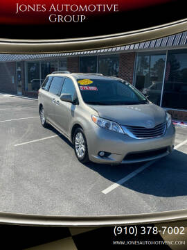 2015 Toyota Sienna for sale at Jones Automotive Group in Jacksonville NC