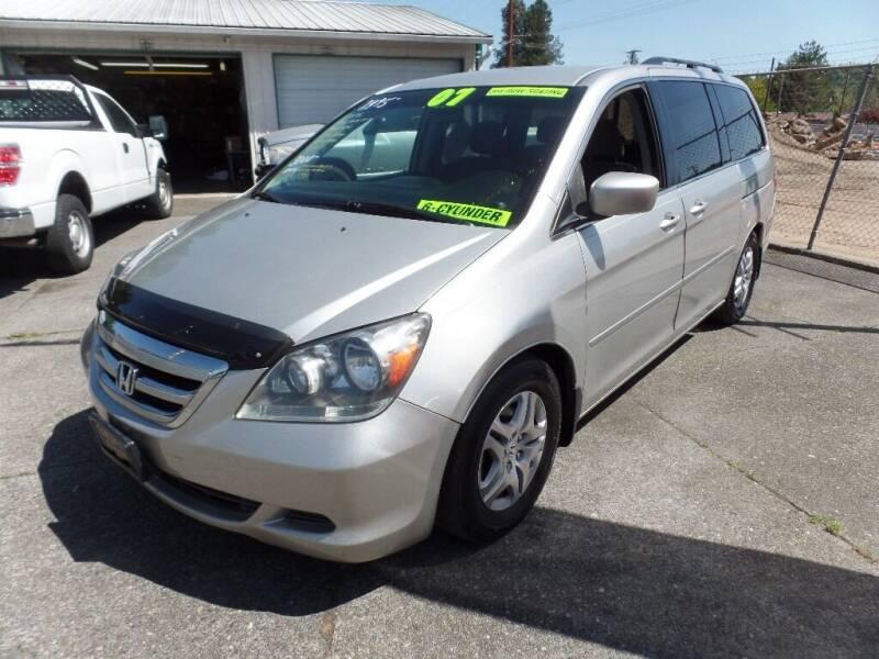 2007 Honda Odyssey for sale at Gold Key Motors in Centralia WA
