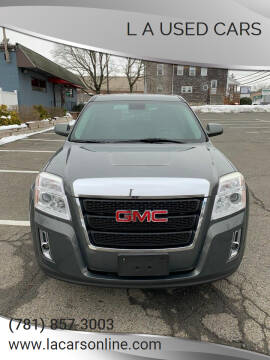 2013 GMC Terrain for sale at L A Used Cars in Abington MA