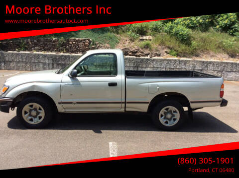 2004 Toyota Tacoma for sale at Moore Brothers Inc in Portland CT