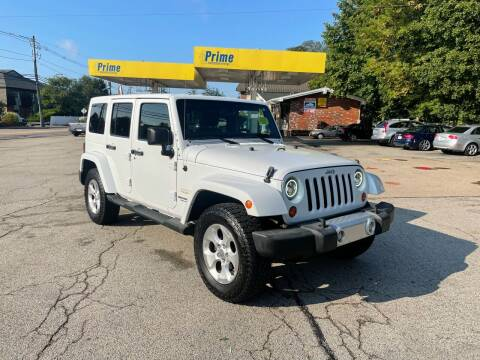 2013 Jeep Wrangler Unlimited for sale at Trust Petroleum in Rockland MA