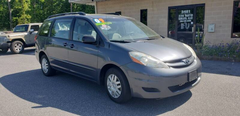 2009 Toyota Sienna for sale at 220 Auto Sales LLC in Madison NC