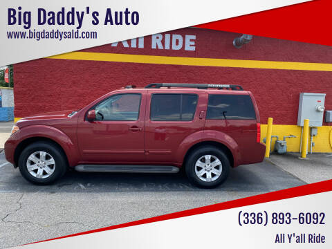 2007 Nissan Pathfinder for sale at Big Daddy's Auto in Winston-Salem NC