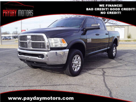 2018 RAM Ram Pickup 2500 for sale at Payday Motors in Wichita And Topeka KS
