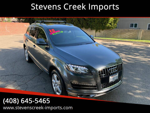 2015 Audi Q7 for sale at Stevens Creek Imports in San Jose CA
