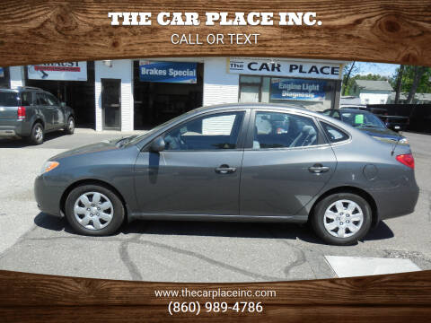 2007 Hyundai Elantra for sale at THE CAR PLACE INC. in Somersville CT