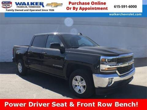 2018 Chevrolet Silverado 1500 for sale at WALKER CHEVROLET in Franklin TN