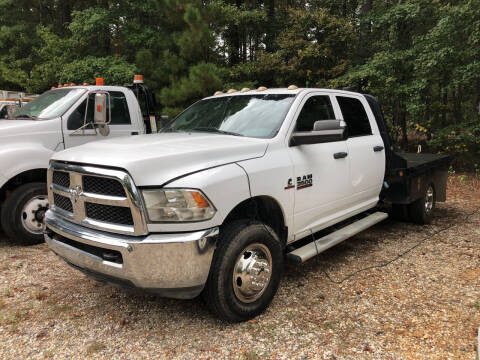 2013 RAM Ram Chassis 3500 for sale at M & W MOTOR COMPANY in Hope AR