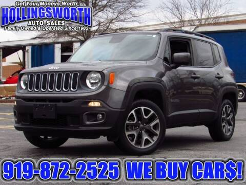 2017 Jeep Renegade for sale at Hollingsworth Auto Sales in Raleigh NC