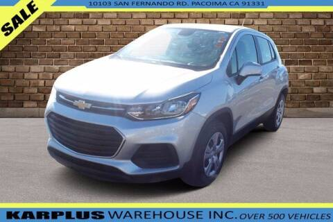 2017 Chevrolet Trax for sale at Karplus Warehouse in Pacoima CA