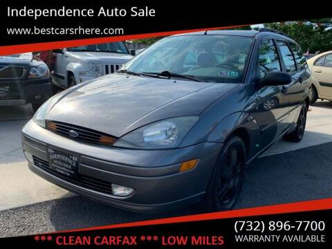 2004 Ford Focus for sale at Independence Auto Sale in Bordentown NJ