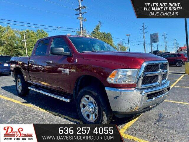 2016 RAM Ram Pickup 2500 for sale at Dave Sinclair Chrysler Dodge Jeep Ram in Pacific MO
