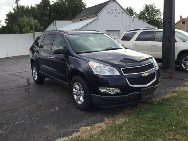 2010 Chevrolet Traverse for sale at Autos Unlimited, LLC in Adrian MI
