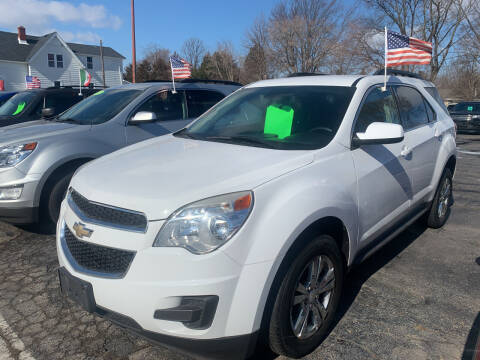 2013 Chevrolet Equinox for sale at PAPERLAND MOTORS in Green Bay WI