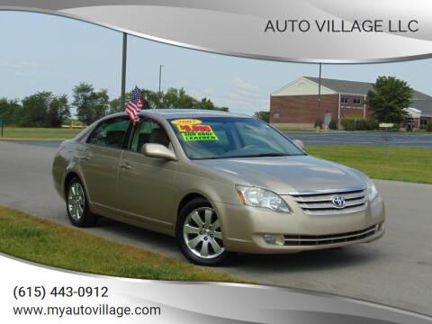 2007 Toyota Avalon for sale at AUTO VILLAGE LLC in Lebanon TN