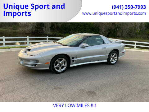 1998 Pontiac Firebird for sale at Unique Sport and Imports in Sarasota FL