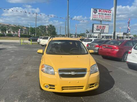2008 Chevrolet Aveo for sale at King Auto Deals in Longwood FL
