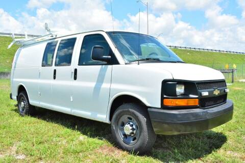 2013 Chevrolet Express Cargo for sale at American Trucks and Equipment in Hollywood FL