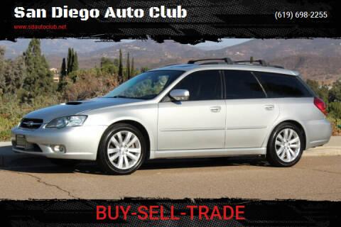 2005 Subaru Legacy for sale at San Diego Auto Club in Spring Valley CA
