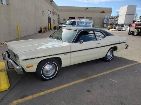 1976 Plymouth Duster for sale at Classic Car Deals in Cadillac MI